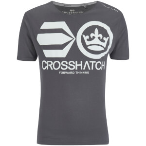 Crosshatch Men's Jomei T-Shirt - Magnet