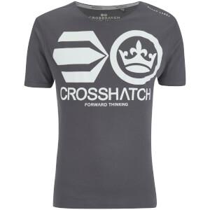 T-Shirt Homme Crosshatch Jomei - Acier