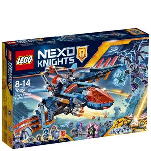 LEGO Nexo Knights: Clay's Falcon Fighter Blaster (70351): Image 1