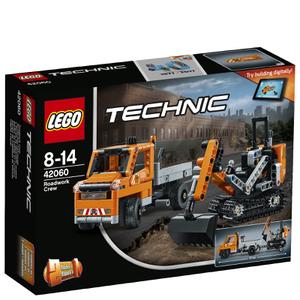 LEGO Technic: L'équipe de réparation routière (42060)