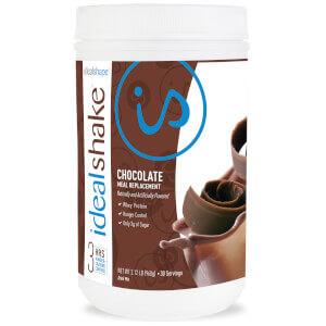 IdealShake Chocolate - Meal Replacement Shake - 30 Servings