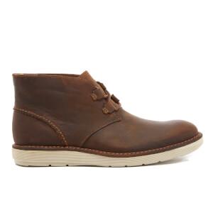 Clarks Men's Fayeman Hi Beeswax Leather Chukka Boots - Beeswax