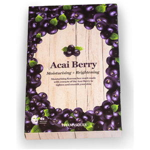 Vitamasques Acai Berry Hydrating Moisturising Mask (Eske med fire)