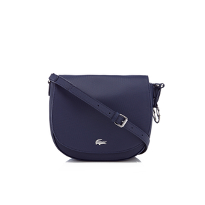 Lacoste Women's Round Crossover Bag - Navy