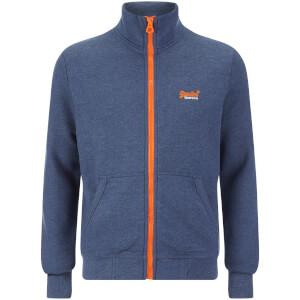 Superdry Men's Orange Label Track Top - Princeton Blue Marl