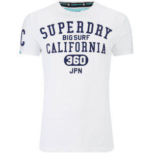 Superdry Men's Big Surf T-Shirt - Optic