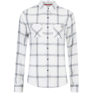 Superdry Women's Classic Boyfriend Shirt - Blind White
