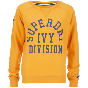 Superdry Women's Tri League Crew Sweatshirt - Tri League Ochre