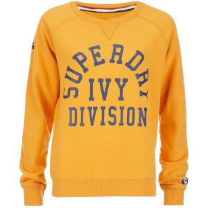 Superdry Women's Tri League Crew Sweatshirt - Tri League Ochre