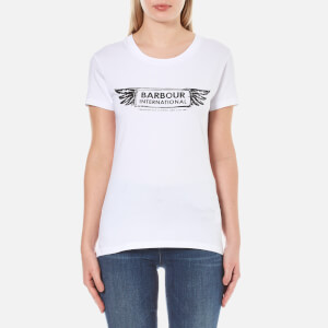 Barbour International Women's Cable T-Shirt - White