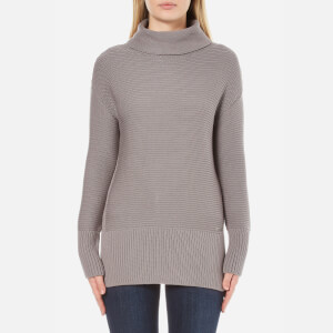 Barbour International Women's Hoppe Knitted Jumper - Storm Grey