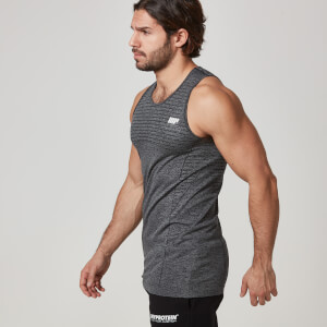 Myprotein Men's Seamless Tank – Black