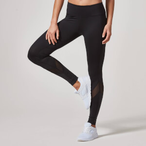Myprotein Core Full Lengde Tights til Dame – Svart