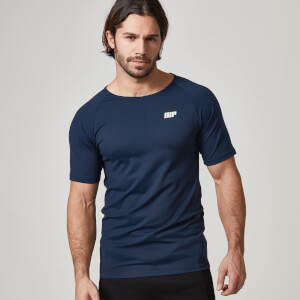 Myprotein Heren Core T-shirt - Navy Blauw