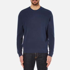PS by Paul Smith Men's Crew Neck Knitted Jumper - Indigo