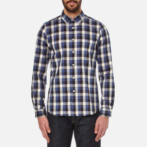 PS by Paul Smith Men's Tailored Fit Shirt - Navy