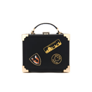 Aspinal of London Women's Yang Mi Trunk Clutch - Black/Gold