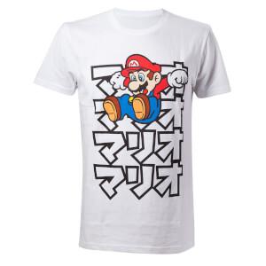 Japanese Mario T-Shirt - S