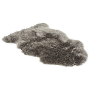 UGG Sheepskin Area Rug - Single - Grey