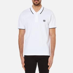 KENZO Men's Pique Tiger Polo Shirt - White