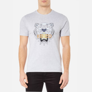 KENZO Men's Printed Tiger T-Shirt - Pearl Grey
