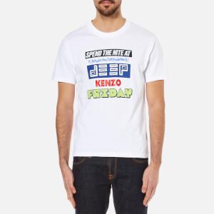 KENZO Men's Poster Logo T-Shirt - White