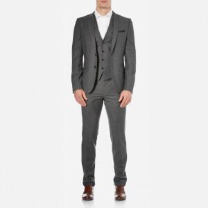HUGO Men's Alid Slim Fit Suit - Black