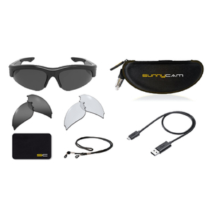 SunnyCam Activ HD Video Recording Glasses