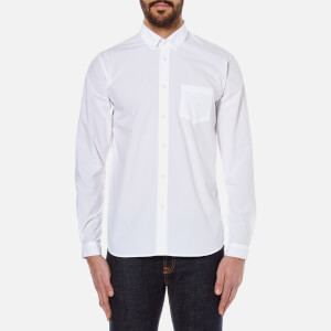 Folk Men's Relaxed Fit Shirt - White