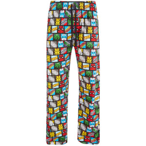 Marvel Comics Men's Avengers Lounge Pants - Black