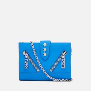 KENZO Women's Kalifornia Wallet on a Chain - Blue