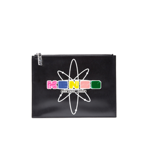 KENZO Women's Essentials A4 Pouch - Black