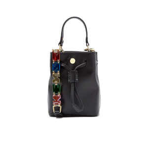 KENZO Women's Essentials Chainy Shoulder Bag - Black