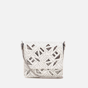KENZO Women's Essentials Chainy Shoulder Bag - White