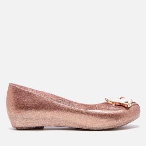Vivienne Westwood for Melissa Women's Ultragirl Ballet Flats - Rose Glitter Orb