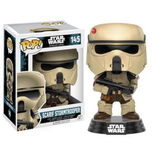 Star Wars Rogue One Scarif Stormtrooper Figurine Funko Pop! Bobblehead