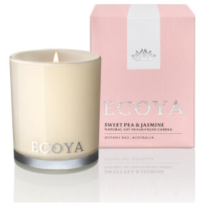 ECOYA Sweet Pea and Jasmine Candle - Mini Madison