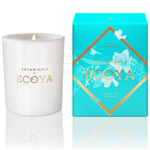 ECOYA Botanicals Evolution Coral and Narcissus Candle - Botanic Jar