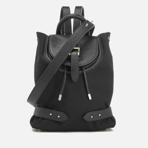 meli melo Women's Mini Nylon Backpack - Black