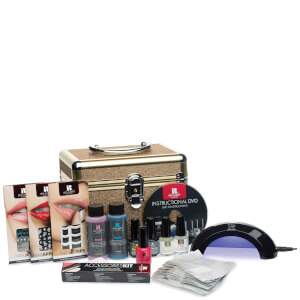 Coffret Vernis à Ongles Gel Glitter Train Case Red Carpet Manicure