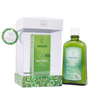 Weleda Skin Food and Pine Bath Gift Box