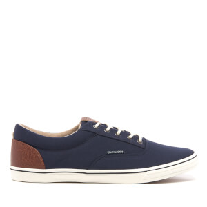 Jack & Jones Vision Contrast Sneakers - Marineblauw