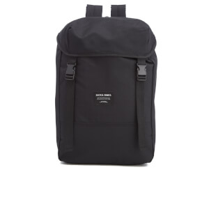 Jack & Jones Men's Textured Rucksack - Black