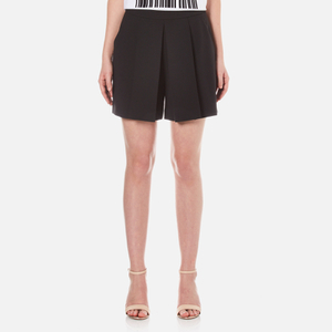 Alexander Wang Women's Tailored Inverted Pleat Shorts - Matrix