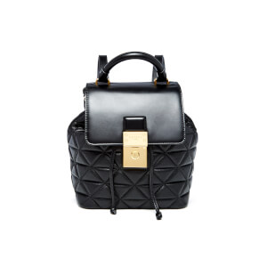 Ted Baker Women's Gaile Quilted Luggage Lock Backpack - Black