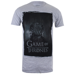 Game of Thrones Herren Throne T-Shirt - Grau Marl