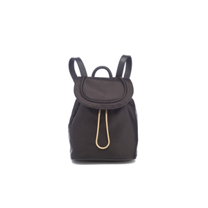 Diane von Furstenberg Women's Satin Backpack - Black