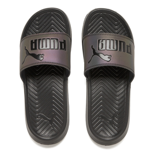 Puma Women's Popcat Swan Slide Sandals - Puma Black