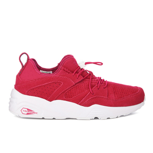 Puma Women's Blaze of Glory Soft Trainers - Vivacious/White