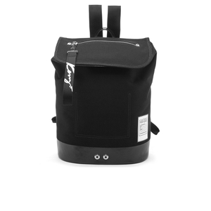 KENZO Men's Cotton Canvas Backpack - Black
